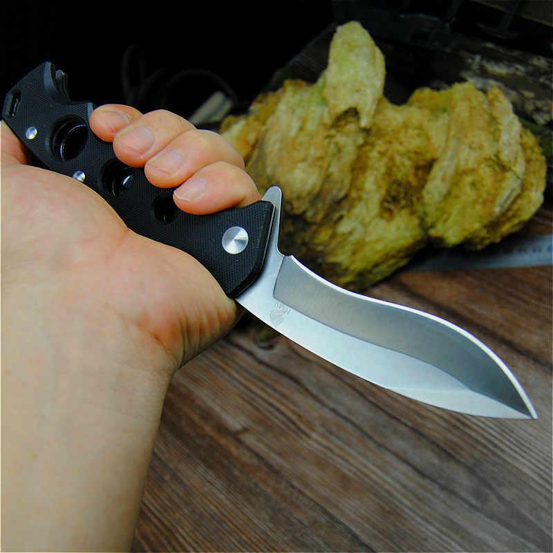 PEGASI 7hr15mov острый тактический складной нож открытый спасательный складной нож немецкий охотничий нож самообороны карманный нож