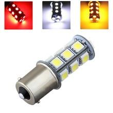 цена на 1157 BAY15D P21/5W White Red Amber / Yellow  5050 18 SMD LED Car Brake Stop Lamp Light Bulb Car Light Source Lights 12V