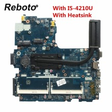 CPU Laptop Motherboard Probook 768146-601 I5-4210U for HP 450/g2 LA-B181P with Heatsink