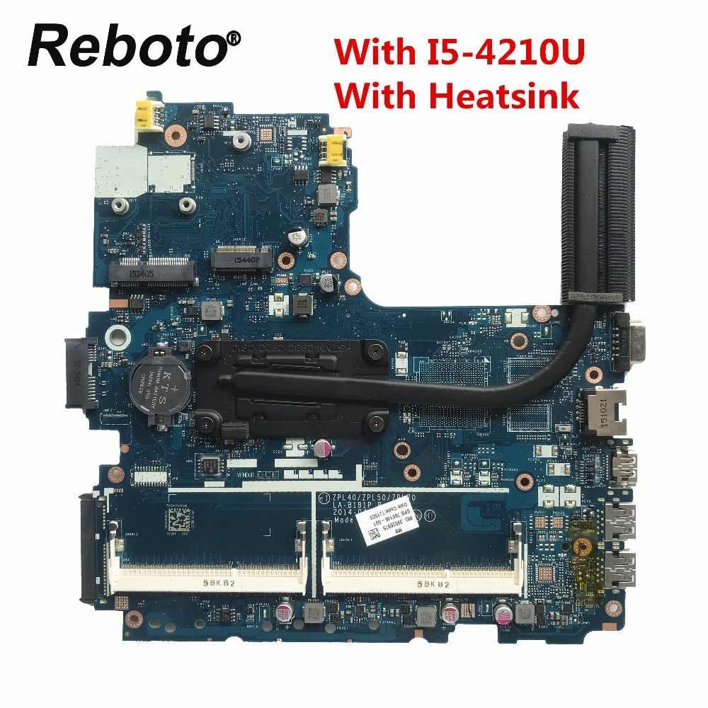 768146-601 768146-501 עבור HP Probook 450 G2 מחשב נייד האם LA-B181P עם I5-4210U מעבד צלעות קירור MB 100% נבדק ספינה מהירה