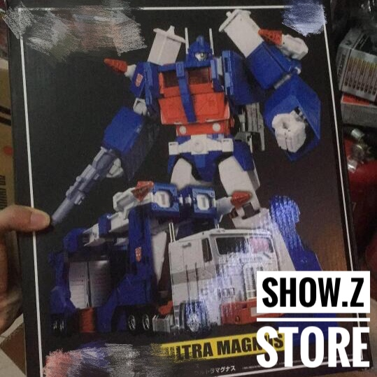 [Show.Z Store] 4th Party Masterpiece MP-22 Ultra Magnus MP22 MP 22 Transformation Action Figure [show z store] fanstoys ft 06x sever iron dibots no 3 g1 masterpiece limited edition mp transformation action figure instock