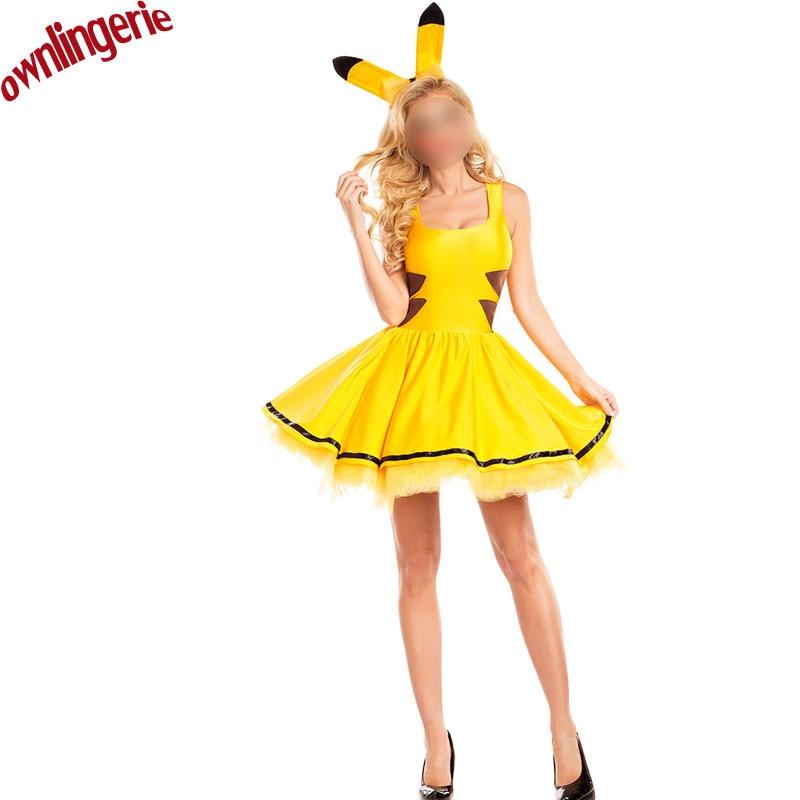 Compra sexy pikachu halloween y disfruta del envío gratuito en  AliExpress.com d2d0600fc35b