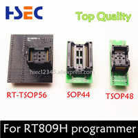 Top Quality TSOP56 Adapter+ SOP44 to DIP44 adapter socket+ TSOP48 to DIP48 adapter socket for RT809h emmc-nand flash programmer