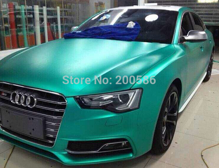 Aliexpress Com Buy Tiffany Blue Matte Metallic Chrome