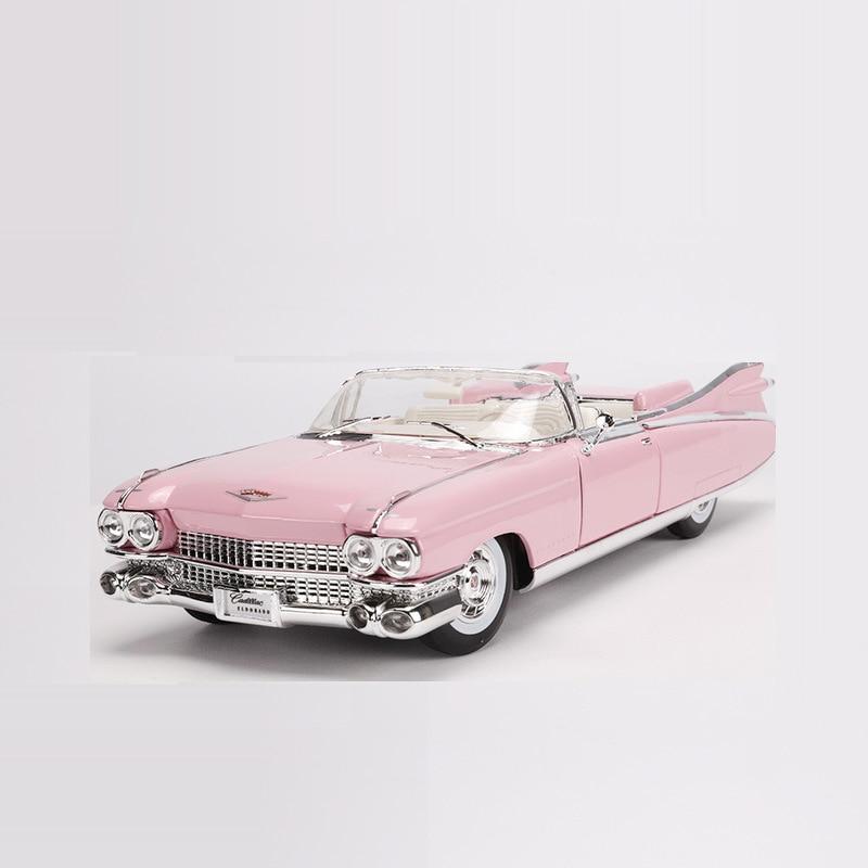 1:18 1959 Cadillac ELDORADO BIARRITZ modèle moulé sous pression voiture métal voiture jouet pour enfants adulte Collection livraison gratuite