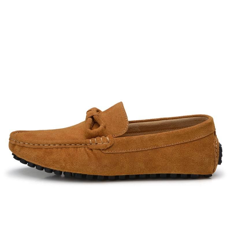 Mode marron Chaussures Loisirs Arrivée 38 Slip Suede rouge Homme Nouvelle Bleu Hommes Tendance Sur Mocassin Rouge Errfc gris Zapatos Nubuck Plat Bleu Mocassins 44 Yq5X1w5x8