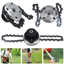 Universal Head Trimmer Lawn Mower Chain Brush cutter for Garden Grass Cutter with Thickened of