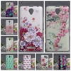 "For Lenovo A5000 Cover Case 3D Flowers Painted Soft Silicon TPU Back Cover Cases For Lenovo A5000 A 5000 5.0"" Phone Bags Hoesjes"