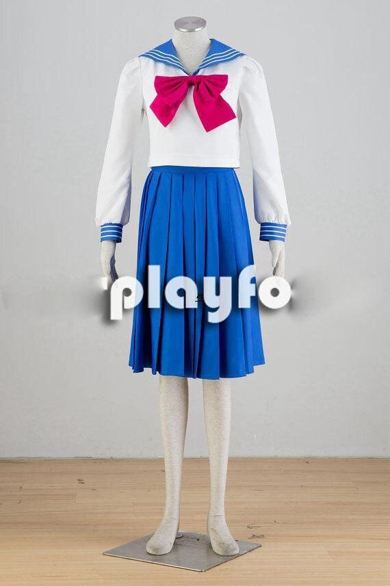 Athemis Sailor Moon Sailor Tsukino Usagi cosplay costume  Free Shipping