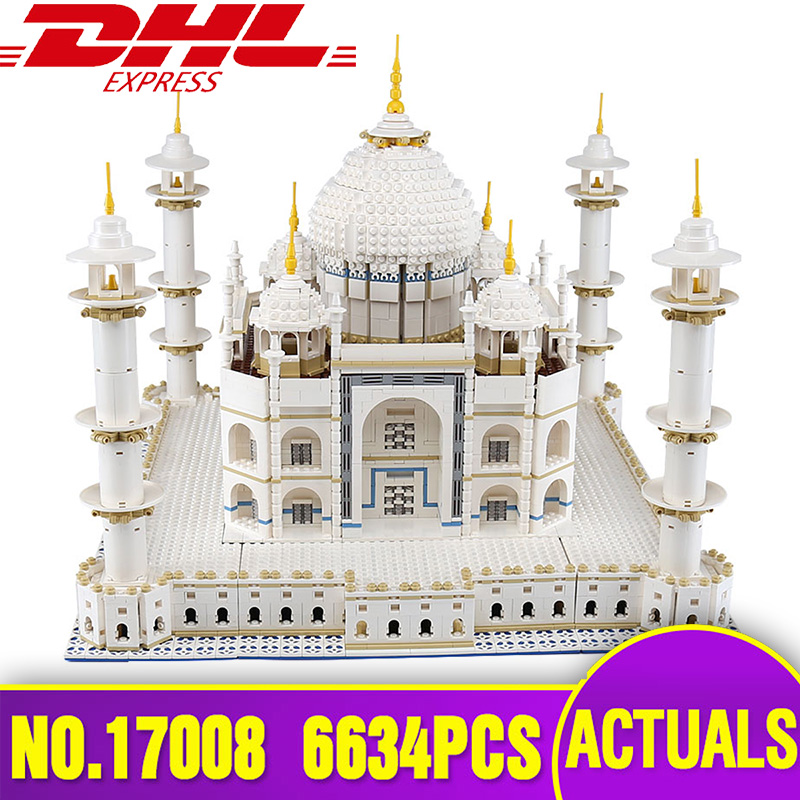 LEPIN 17008 The Tai Mahal Model Building Kits Brick Blocks Toy Compatible Legoing 10189 Children Educational Funny model as Gift