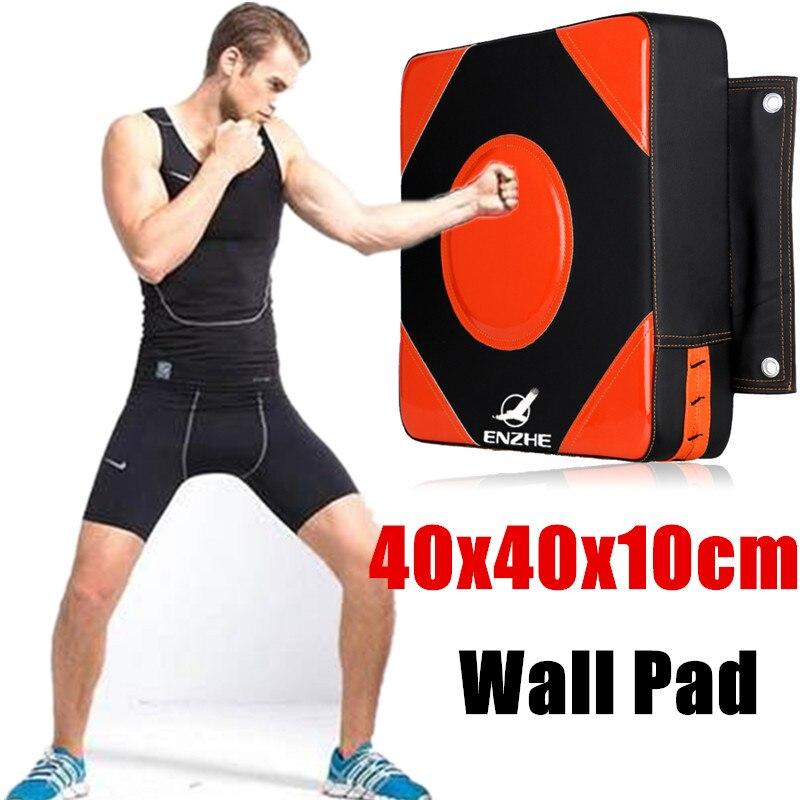 40 40 10cm Wall Pad Kick Punch Bag Adults Dummy Boxing Target MMA Kick Square Focus