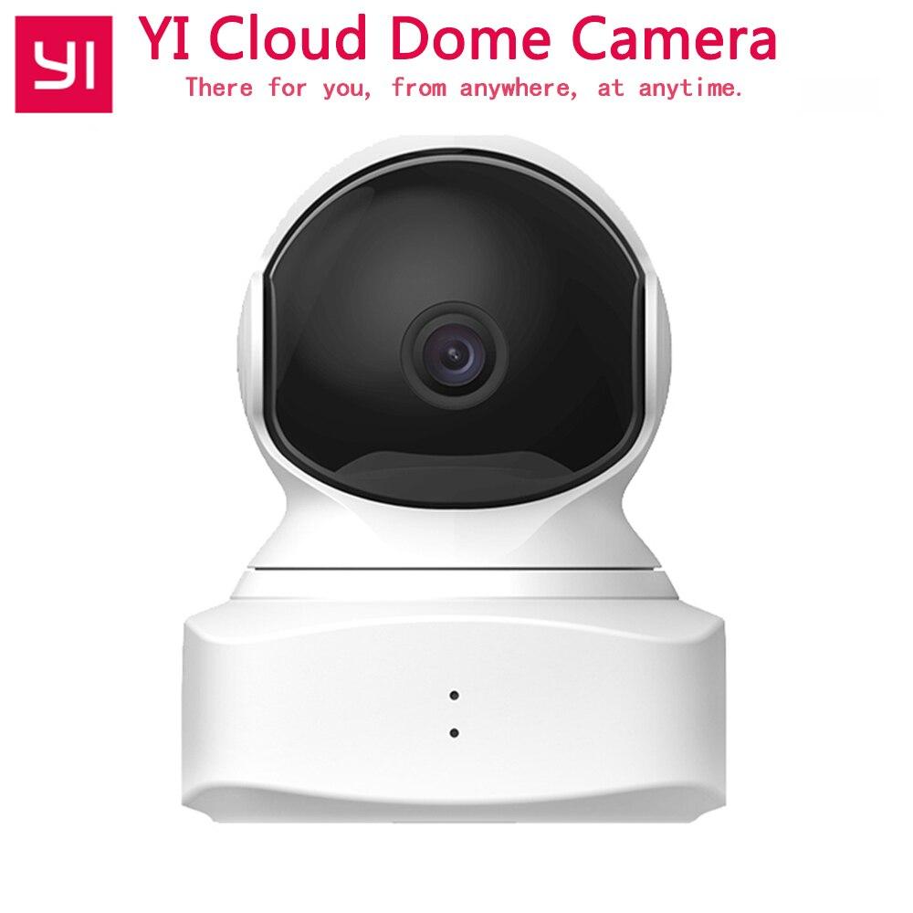 2018 Nouveau YI Dome Cloud Caméra Baby Monitor Vision Nocturne Améliorée Wifi IP Cam 1080 p 360 Pan/Tilt /Zoom Caméra de Sécurité Sans Fil