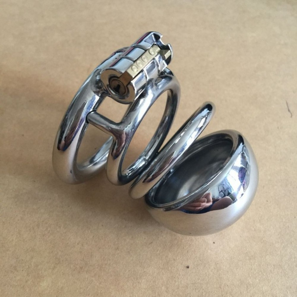 male chastity device stainless