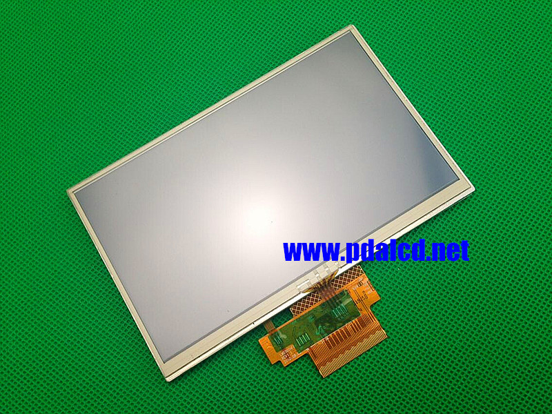 Original 5 inch For TomTom Tom Tom VIA 115 125 GPS LCD display screen with touch screen digitizer panel free shipping