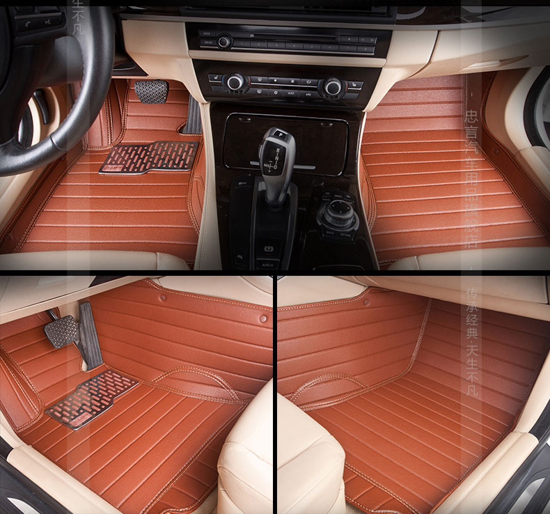 5seats Lhd Full Surrounded Waterproof Non Slip Car Floor Mats For