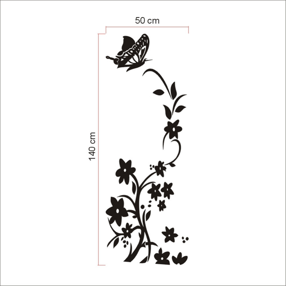 New design funny kitchen fridge sticker refrigerator decals dining new design funny kitchen fridge sticker refrigerator decals dining room home kitchen decorative floral butterfly wall stickers in wall stickers from home amipublicfo Images