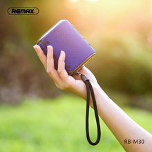 Remax RB-M30 fashion Outdoor Bluetooth Speaker IPX6 Waterproof Dust-proof 4.2 Built-in Microphone Portable loudspeaker