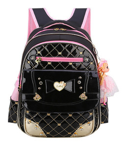 Image 1 - Sevimli prenses Schoolbag su geçirmez çocuk okul çantaları kızlar için karikatür sırt çantası kız Schoolbag çocuklar kitap çantası Mochilas