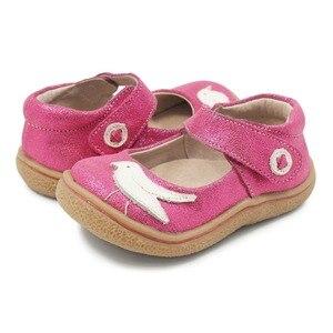 Image 3 - TipsieToes למעלה מותג איכות עור אמיתי ילדים פעוט ילדה ילדי נעלי אופנה יחפות Sneaker מרי ג יין ספינה חינם