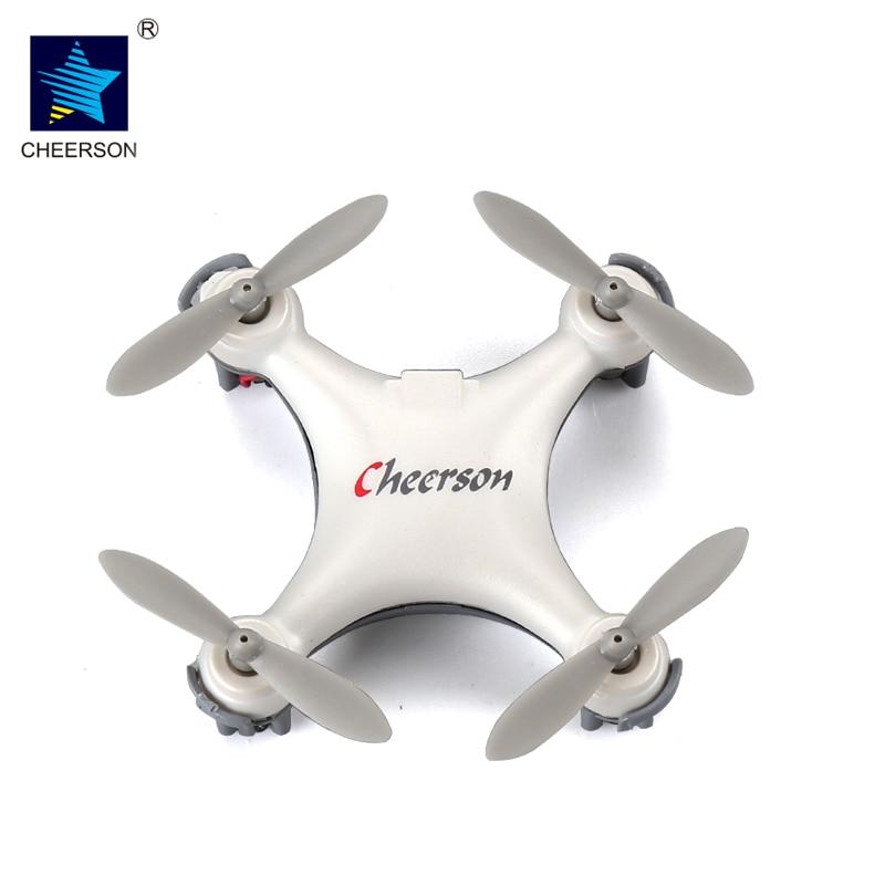 Cheerson cx-10se Mini Дрон Quad вертолет Карманный Дрон Дистанционное управление Kid Игрушка 4ch 3D переворачивает Радиоуправляемый нано Quadcopter вертолет RTF VS h20
