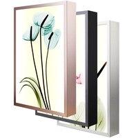 Kwiat dekoracji Wnętrz LED Kinkiet lampka nocna ultra-cienki moda Wall Art Zdjęcia Ścienny Do Salonu Home wystrój