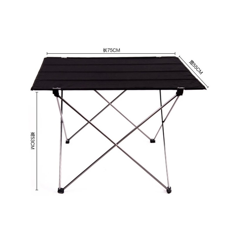 2017 Outdoor Folding Table Ultra-light Aluminum Alloy Structure Portable Camping Table Furniture Foldable Picnic Table Oxford jfbl 2x 1 8m 6ft aluminum portable folding camping picnic party dining table