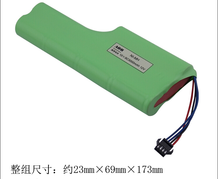 1 pcs Original NImh Battery for CXAB NI-MH battery 10 * SC3000mAh 12V for Cobos 526 rechargeable Batteries with plug