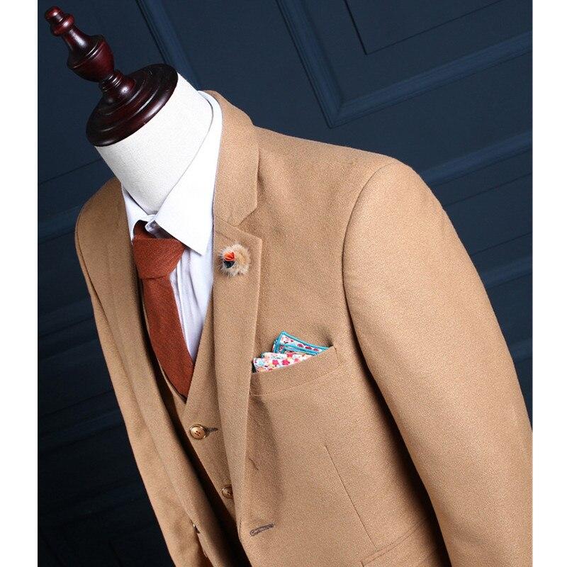 Commande Bal Jaune Printemps Gilet Mode veste Parti Fait Slim De À Marié Casual Pantalon Hommes Automne Robe La Mariage Costume Sur x4wnR7Hfq
