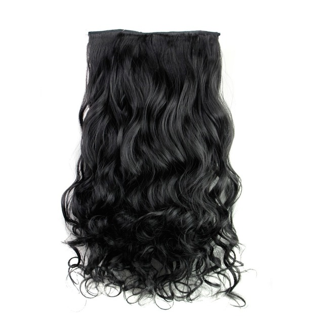Rockstar wigs 16clors 24inches long wavy synthetic hair extensions rockstar wigs 16clors 24inches long wavy synthetic hair extensions 5clips in high temperature fiber black blond pmusecretfo Images
