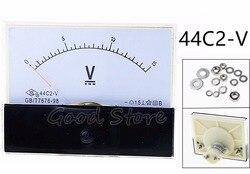 44C2 DC 100V 150V 250V 300V 400V 450V 500V 600V woltomierz analogowy woltomierz plac DC napięcie miernik panelu