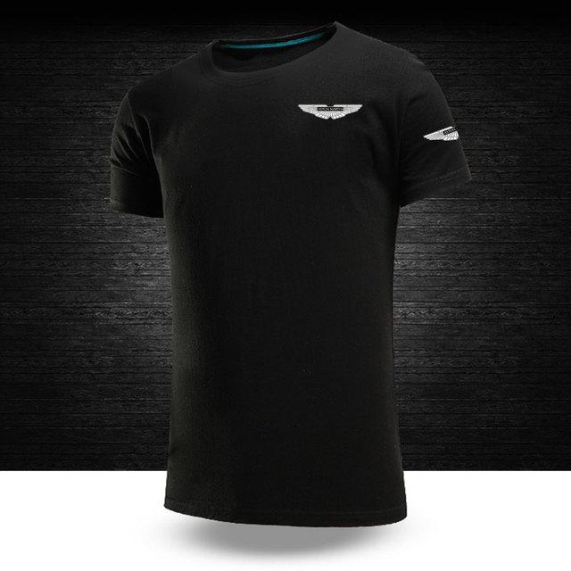 New Summer Aston Martin Logo T Shirt Men And Women Work Short Sleeve T Shirt T Shirts Aliexpress