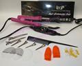 Free shipping Pink Loof Hair Extension Fusion Iron L-618-Control Hair Extension Tool Kits