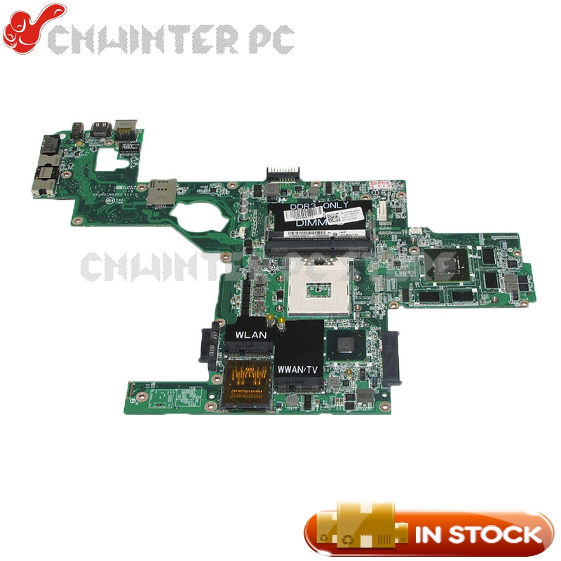 NOKOTION DAGM6CMB8D0 CN-0C47NF 0C47NF For Dell XPS 15 L502X Laptop Motherboard HM67 DDR3 GT525M Video card nokotion cn 0j2ww8 laptop motherboard for dell inspiron n5110 nvidia gt525m 1gb graphics hm67 ddr3 core i7 mainboard