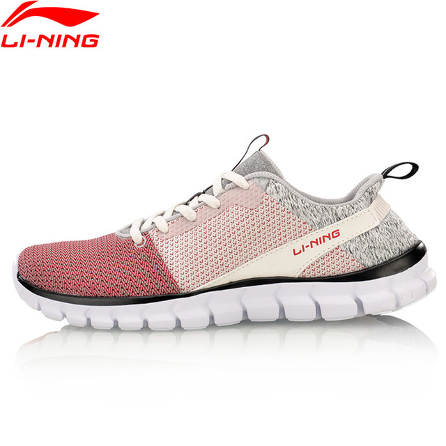 Li-Ning/женская спортивная обувь 24 H с подкладкой из дышащего материала, легкие кроссовки AFHN026 YXX018