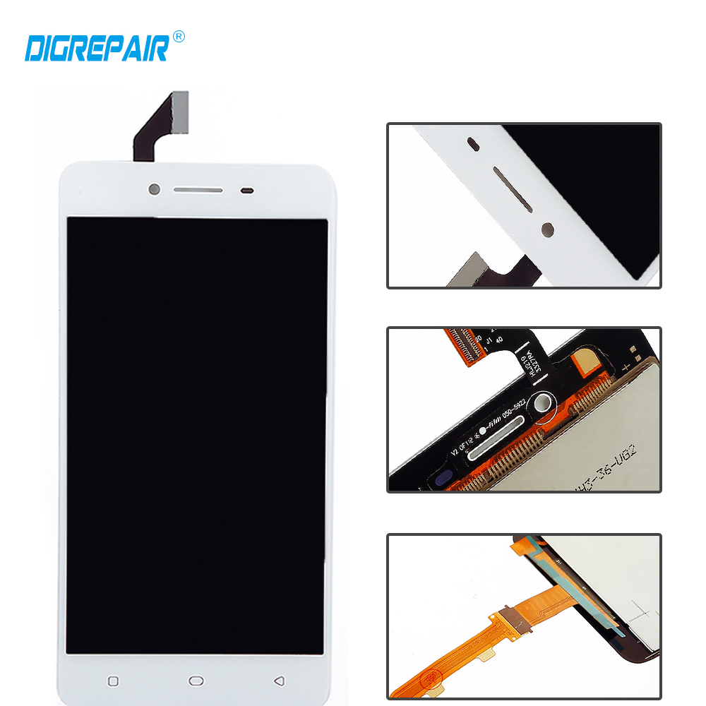 US $17 59 |5 0 inch New LCD For OPPO A37 LCD Display with Tested Touch  Screen Digitizer Assembly Replacement Parts Repair+Free shipping-in Mobile