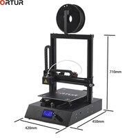 Ortur 4 3 D принтер цена один экструдер ЖК экран FDM 3d принтер для продажи