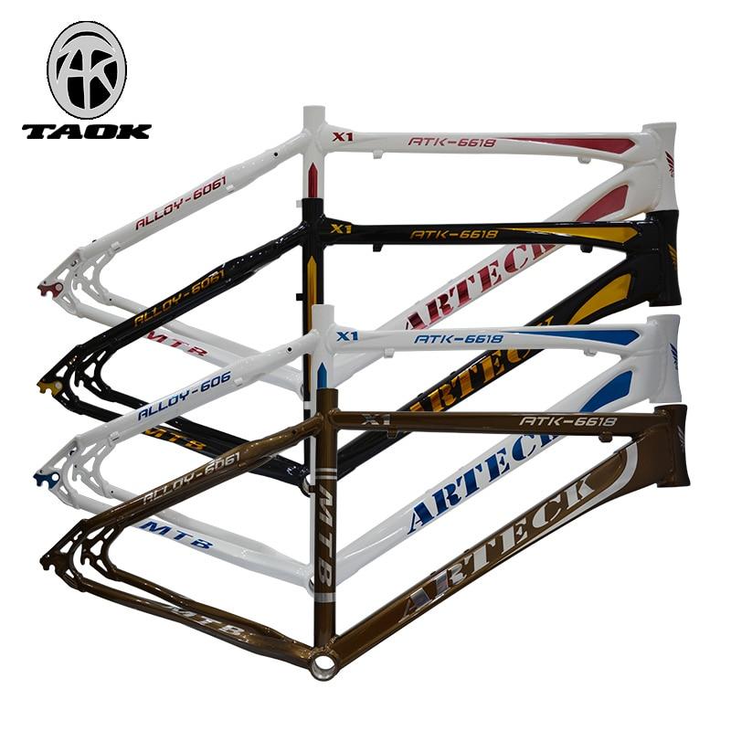 ARTECK Artec 26 inch * 17 inch 18-inch disc brakes bicycle frame V dual aluminum tripod соморкaнский бульвaр 18 26