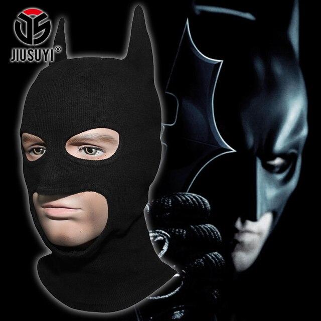 Rippe Stoffe Batman Maske Muster Balaclava Dark Knight Rises Cosplay ...