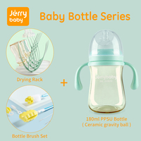 Jerrybaby Baby Bottle Accessories Nursing Bottle Cleaning Series Bottle Nipple Brush