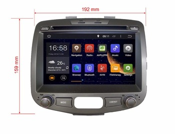 2019 7 inch 4G LTE Android 8.1 IPS quad core car multimedia DVD player Radio GPS FOR HYUNDAI i10 2009 2010 2011 2012