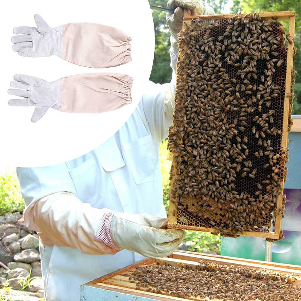 綿フルボディ養蜂服ベールフード手袋帽子服 Jaket 保護養蜂スーツ養蜂家蜂スーツ機器