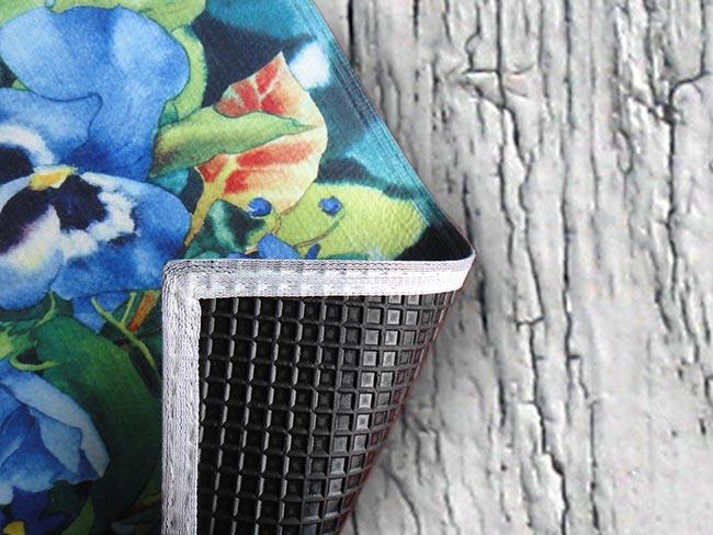 famous paintings flower hd rubber carpet doormat mats in Carpet from Home Garden