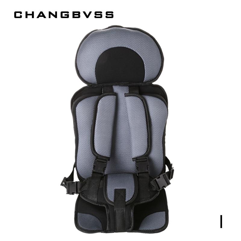 Meses de Bebê ajustável Assento Seguro Para 6-5 Anos de Idade Do Bebê, Criança Segura Assento, mat Assentos de Cadeira Portátil Do Bebê de Segurança para crianças