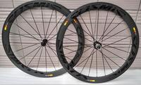 Cheap Price Width 25mm Chinese Carbon Road Bike Clincher Wheelset 50mm Custom Paint White Colour Ceramic