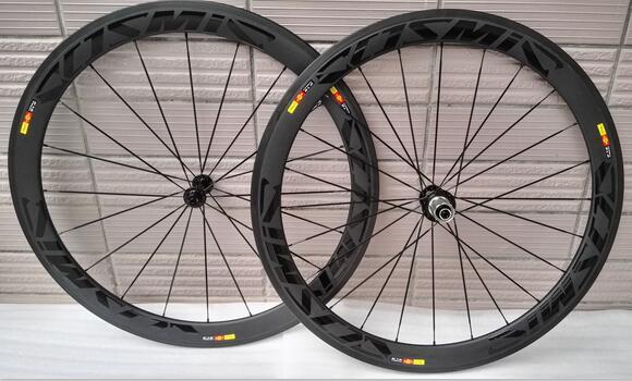 good price width 23mm chinese carbon road bike clincher wheelset 50mm custom paint sticker basalt brake surfcae ceramic