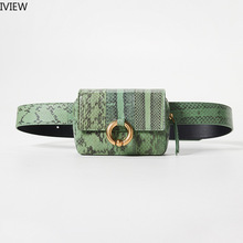 Iview 2019 Women Waist Bag  Waist Funny Packs Belt Bag  Luxury Leather Chest Bag Multi Function Bags High Quality