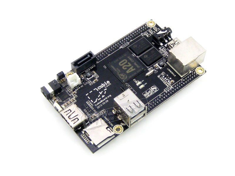 module Cubieboard 2 A20 Raspberry Pi Like Cubieboard A20 Dual-Core 1GB DDR3 Mini PC Development Board HDMI 1080p Supported pc cubieboard2 cubieboard a20 arm cortex a7 dual core 1gb ddr3 development board with case cubieboard 2 super than raspberry pi