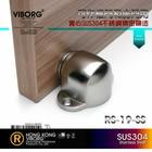 VIBORG 304 Stainless Steel Casting Powerful Floor-mounted Magnetic Door Stopper Door Stop Doorstop brushed RS-19
