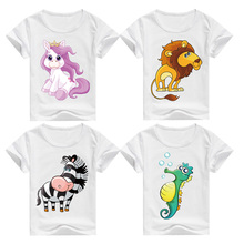 Short Sleeve Cartoon T-Shirt 100% Cotton