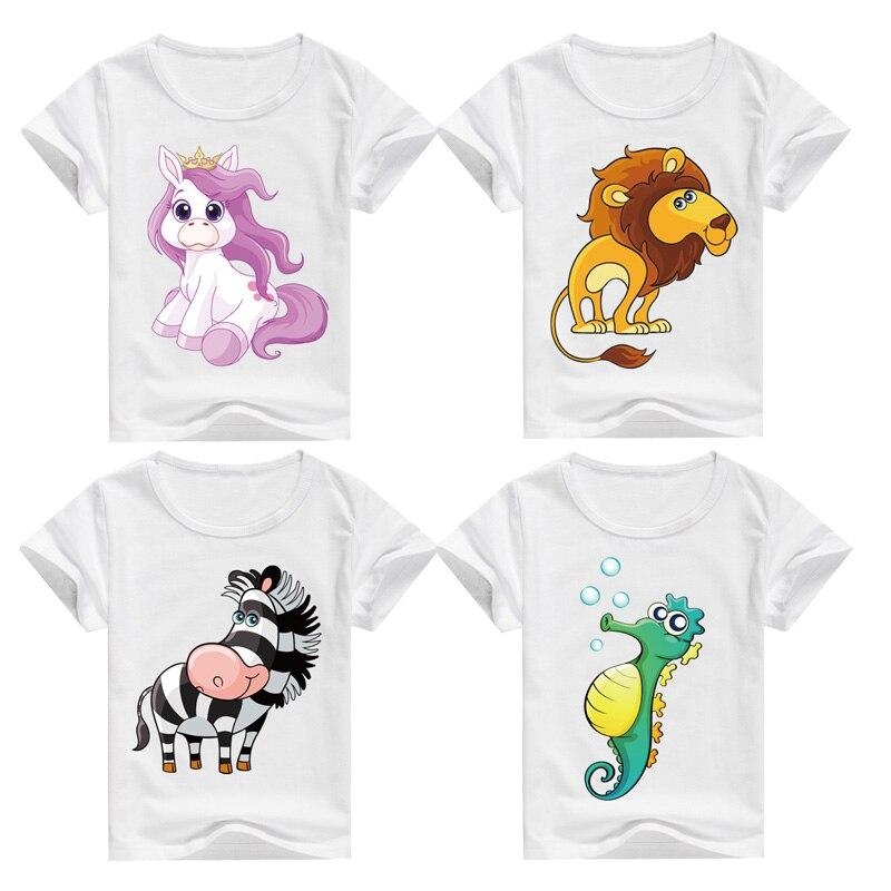 DMDM PORCO 2017 Algodão T-Shirt Crianças Verão de Manga Curta camisetas Para Meninos Meninas Roupas de Bebê Baby Boy T Shirt Da Criança topos
